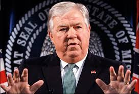 Haley Barbour dined with a