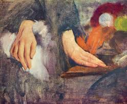 Hand Study by Degas