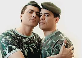 Gays in the military.