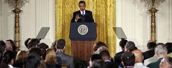Obama's press conference?