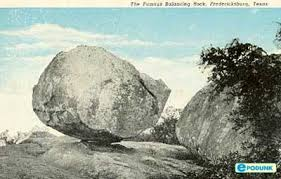 of Balanced Rock back when
