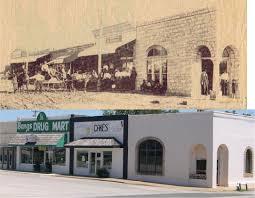 Bangs, Texas, 1907 & 2004