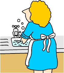 Washing up Clip art