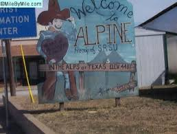 0.0, City of Alpine, TX