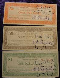 1933 Clay Center, Kansas Scrip Set