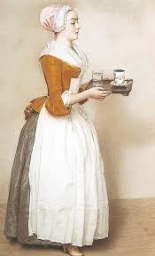 Detail, Chocolate Maid