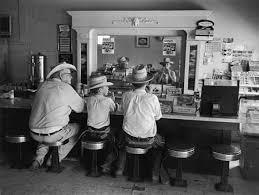 Cafe, Lovelady, Texas,