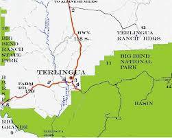 Map of Terlingua, and Big Bend