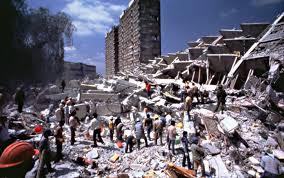 Catastrofe causada por el terremoto