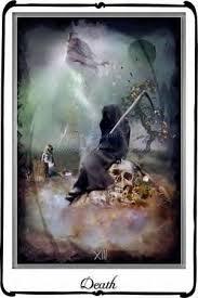 of the Death tarot card,