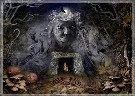 Samhain Goddess : The Crone