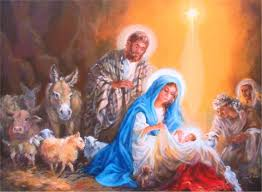Nativity Original Serigraph, Oil on ...