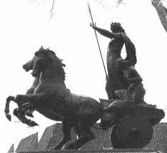 Boudica statue London
