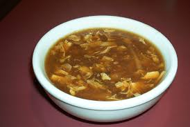 and hot and sour soup
