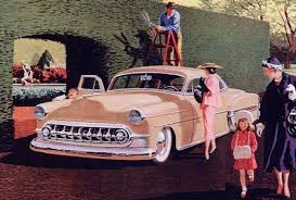 Four-Links – remixed 1950s car