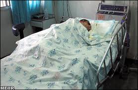 در بیمارستانی٬دو مرد بیمار در