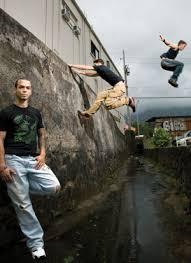 Jumping, Flying Free Running