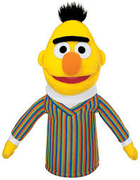 "like Bert from ""Sesame"
