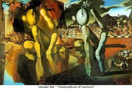 ... Salvador Dali's painting ...