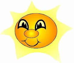 le soleil!