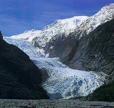 These sibling glaciers on the