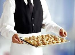 The caterer ...