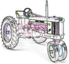 Free Tractor Clipart