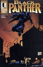 BLACK PANTHER #1 (NEW SERIES)