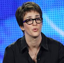 Rachel Maddow is thinking