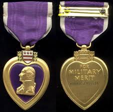 purple heart . Don't forget.