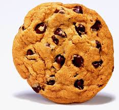 a chocolate-chip cookie