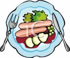 Plate of Food. Image Description: