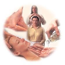 Healing hands of calm