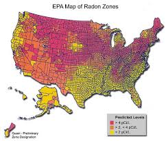"""Indoor radon is the"