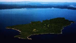 ... Island is located in Sebago Lake ...
