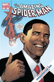 For Obama/Spider-man Comic