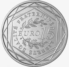 Le nombre de pièces de 15 euros qui ...