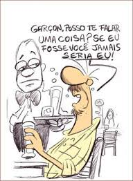 Frase do dia (do Boteco do